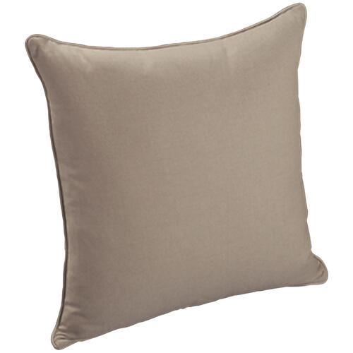 "Throw Pillows Knife Edge Square w/welt (22"" x 22"")"