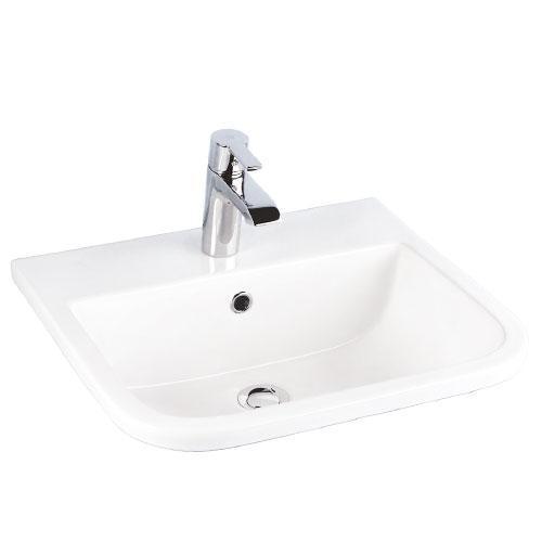 Series 600 Drop-In Wash Basin - Single-Hole
