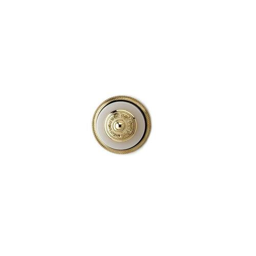 VERSAILLES Robe Hook KTD10 - Polished Nickel with Polished Gold