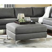 Ryler Oversized Accent Ottoman Charcoal