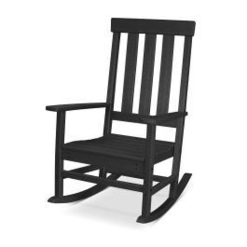 Polywood Furnishings - Prescott Porch Rocking Chair in Black