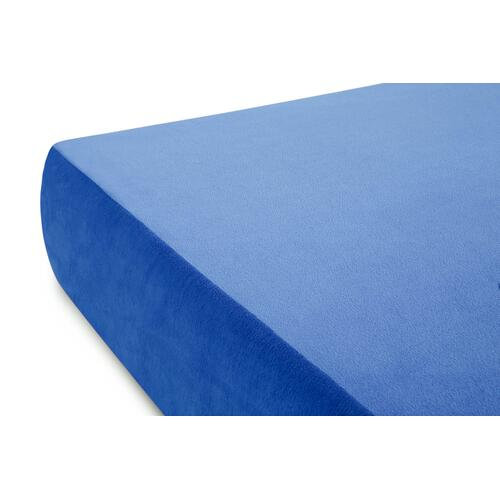 Brighton Bed Gel Memory Foam Mattress Full Blue