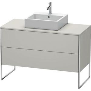 Vanity Unit For Console Floorstanding, Concrete Gray Matte (decor)