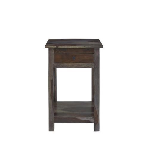 Chairside Table - Tea Finish