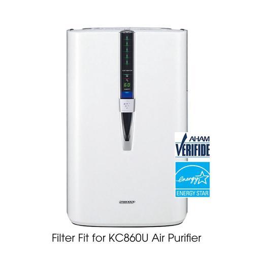 Sharp - Sharp True HEPA KC860U Replacement Filter