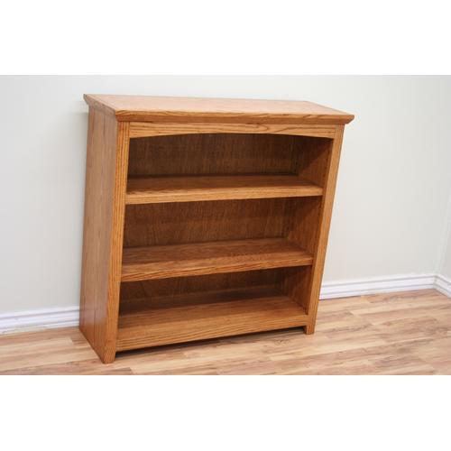 """Shaker Oak 36"""" Standard Bookcase"""