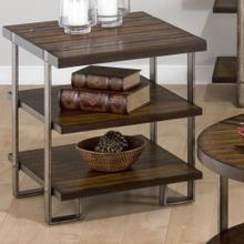 End Table W/ 2 Shelves