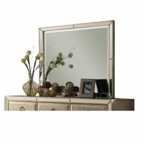 ACME Voeville Mirror - 21004 - Antique Silver