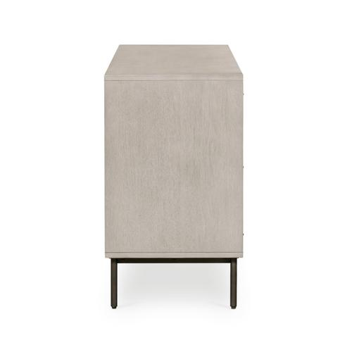 Carly 6 Drawer Dresser-grey Wash