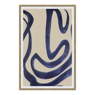 See Details - Clarity 1 Abstract Ink Print Wall Décor