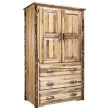 Glacier Country Collection Armoire