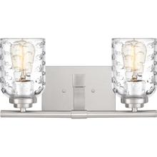 View Product - Cristal Bath Light in Brushed Nickel