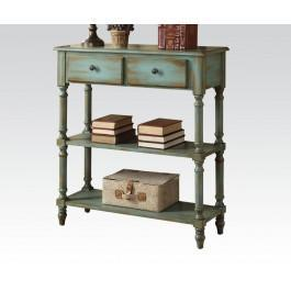 Acme Furniture Inc - Antique Green Console Table