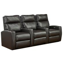 See Details - 3-seater Power Home Theatre - Espresso