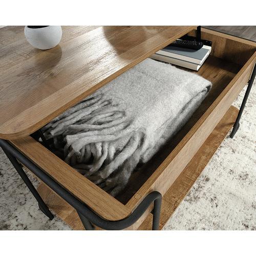 Product Image - Industrial Metal & Wood Lift-top Coffee Table