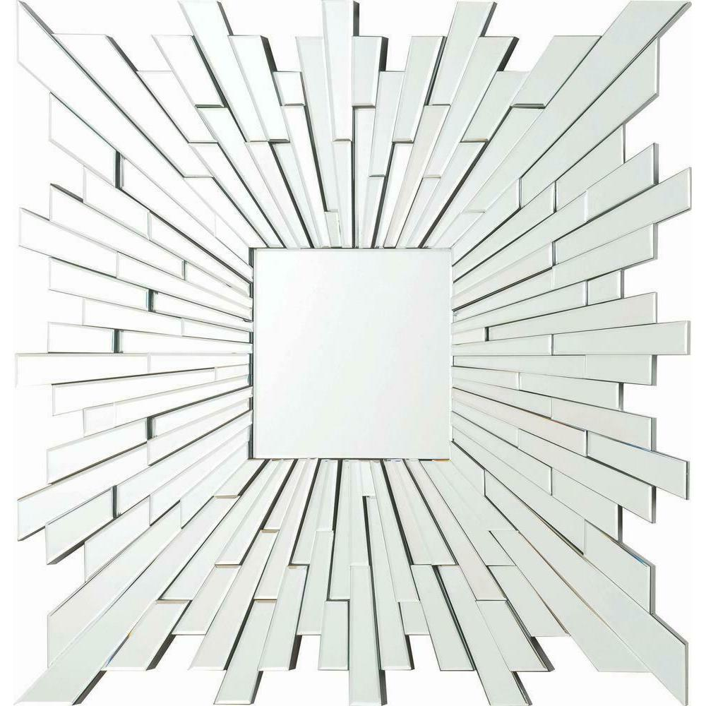 See Details - Transitional Square Frameless Mirror