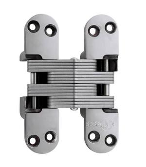 Model 418SS Stainless Steel Invisible Hinge Bright Stainless Steel Product Image