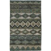 Bengal Sea Green Hand Knotted Rugs