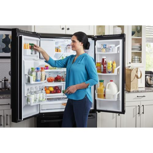 Gallery - 36- Inch Wide French Door Refrigerator with PowerCold® Feature - 25 Cu. Ft.