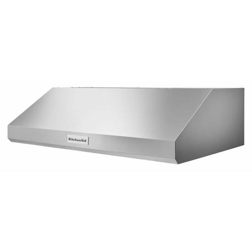 """KitchenAid - 36"""" 585 CFM Motor Class Commercial-Style Under-Cabinet Range Hood System - Stainless Steel"""