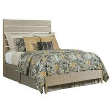 Symmetry Incline Queen Oak Low Bed