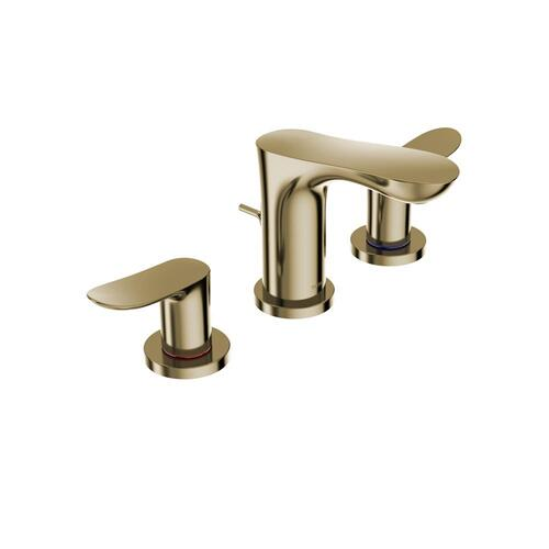 GO Widespread Faucet - 1.2 GPM - Polished French Gold MTO