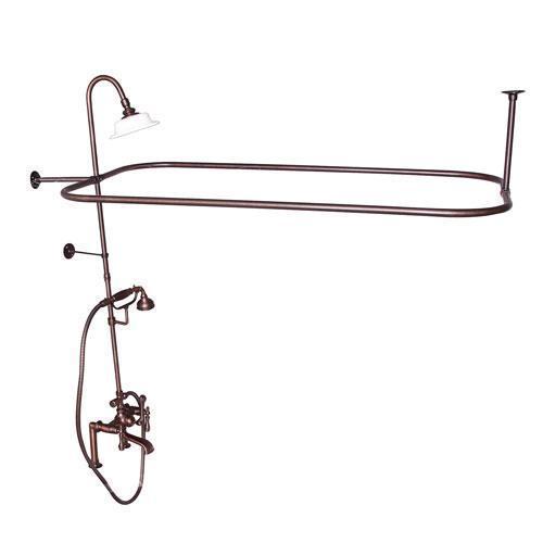 Code Rectangular Shower Unit - Lever / Oil Rubbed Bronze