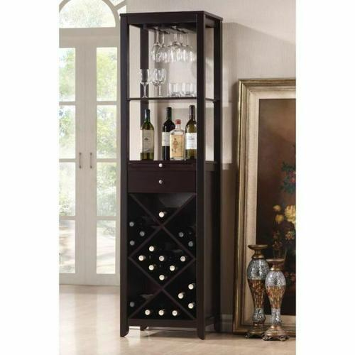 ACME Casey Wine Cabinet - 12244 - Wenge