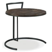 Rustique Round End Table