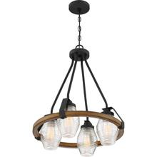 View Product - Guilford Chandelier in Grey Ash