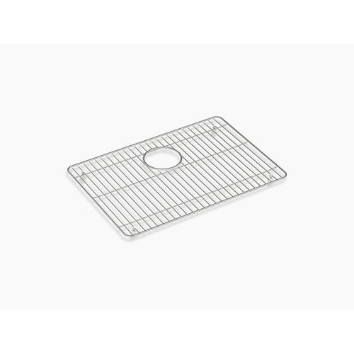 "Stainless Steel Stainless Steel Sink Rack, 20-1/4"" X 14"", for K-28001"