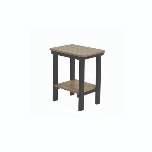 Rectangular Bar Height End Table