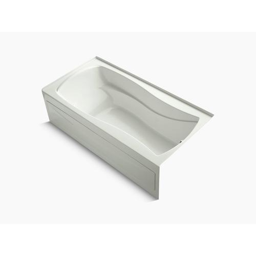 """Dune 72"""" X 36"""" Alcove Bath With Bask Heated Surface, Integral Apron, Integral Flange, and Right-hand Drain"""
