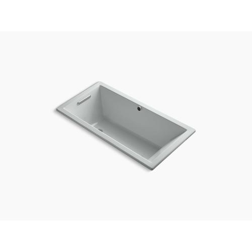 """Ice Grey 60"""" X 30"""" Drop-in Bath With Bask Heated Surface and Reversible Drain"""