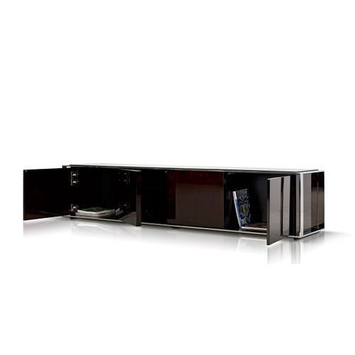 VIG Furniture - Modrest Noble - Modern Ebony Lacquer TV Entertainment Center