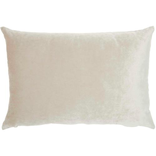 """Home for the Holiday L1773 Beige 12"""" X 18"""" Throw Pillow"""