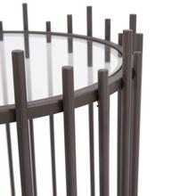 See Details - Iron Rod Side Table