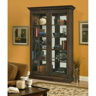 See Details - Howard Miller Clawson Curio Cabinet 670020