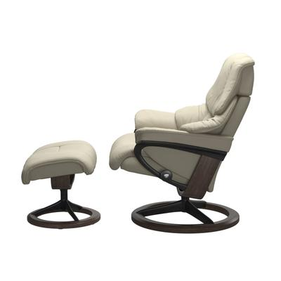 See Details - Stressless® Reno (L) Signature chair with footstool