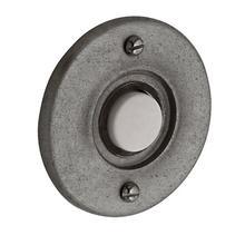 Distressed Antique Nickel Round Bell Button