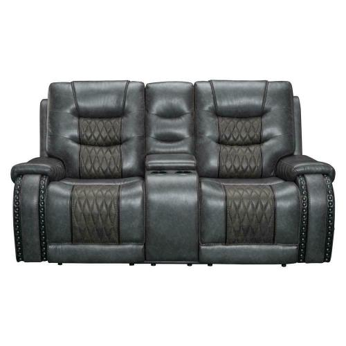 Parker House - OUTLAW - STALLION Power Console Loveseat