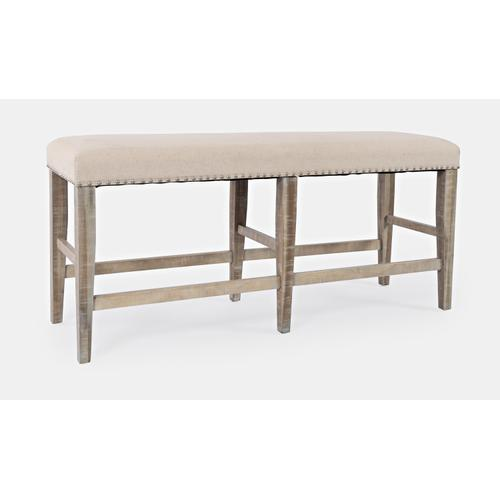 Fairview Ash Backless Counter Bench