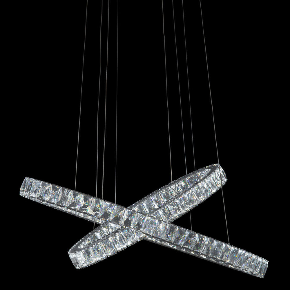 Crossover LED Chandelier