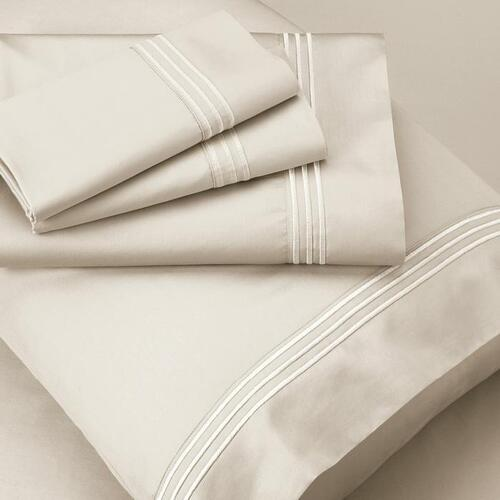 Recovery Sheet Set - Ivory / Split Cal King