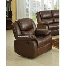 ACME Fullerton Recliner - 50012 - Brown Bonded Leather Match