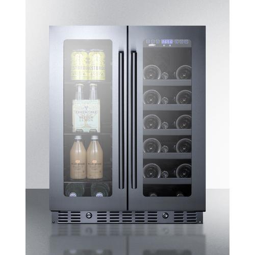 "Summit - 24"" Built-in Wine/beverage Center, ADA Compliant"