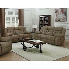 See Details - Houston Casual Tan Reclining Two-piece Living Room Set
