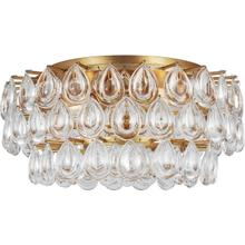AERIN Liscia 4 Light 19 inch Gild Flush Mount Ceiling Light, Medium