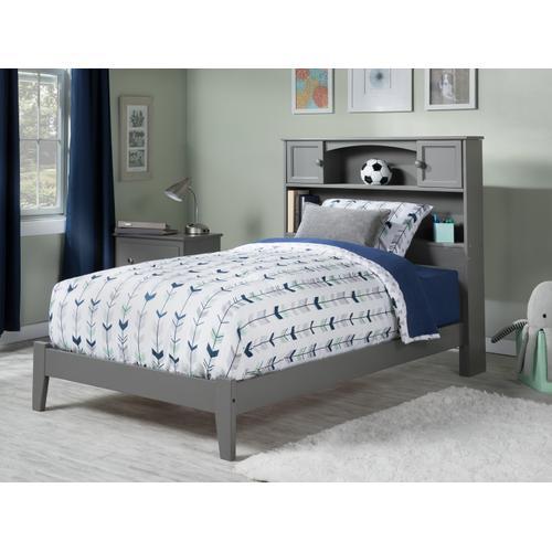 Atlantic Furniture - Newport Twin XL Bed in Atlantic Grey
