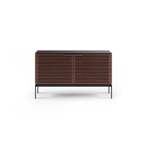 Sv 7128 Dual Credenza Media Console in Chocolate Stained Walnut